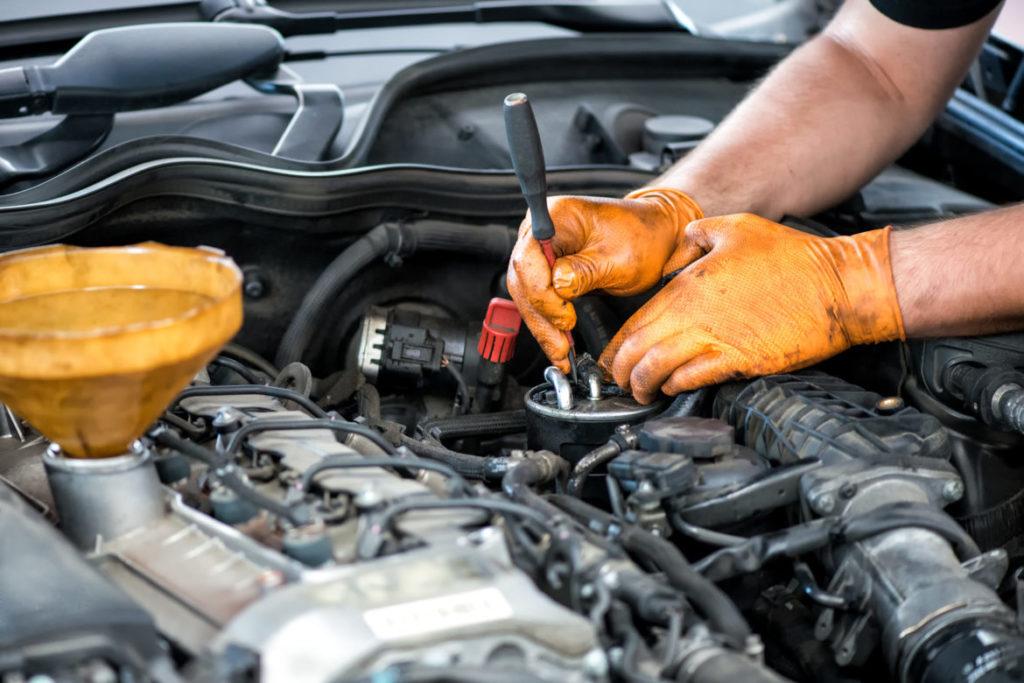 maintenance of a truck